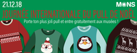 Journée internationale du pull de Noël dans les musées montois!