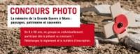 """Concours photo """"La mémoire de la Grande Guerre à Mons : paysages, patrimoine et souvenirs"""""""