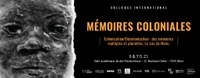 Colloque international - Mémoires coloniales.